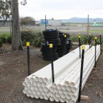 PVC SW pipe (solid and slotted)